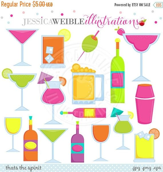 Alcohol clipart party drink #1