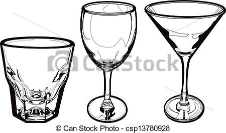 Wine clipart drink glass Drinking Drinking  Three Glasses