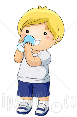 Drink clipart drinking water Character Drinking Download Clipart Art