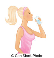 Drink clipart drinking water Drink water clipart Drinking water