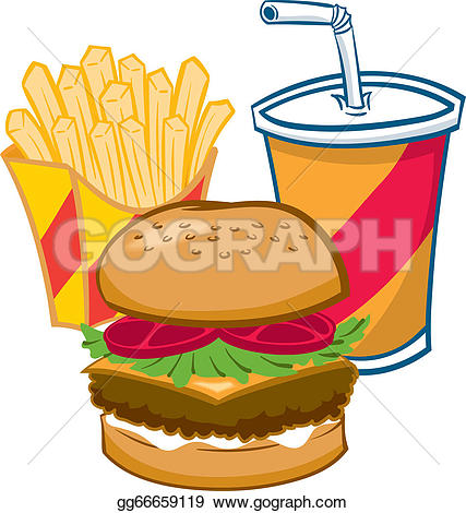 Drink clipart fast food GoGraph drink EPS a gg66659119