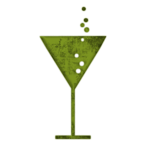 Champagne clipart drinking glass Grunge Etc » Green Clipart