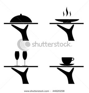 Drink clipart food tray With and Art Food Hands