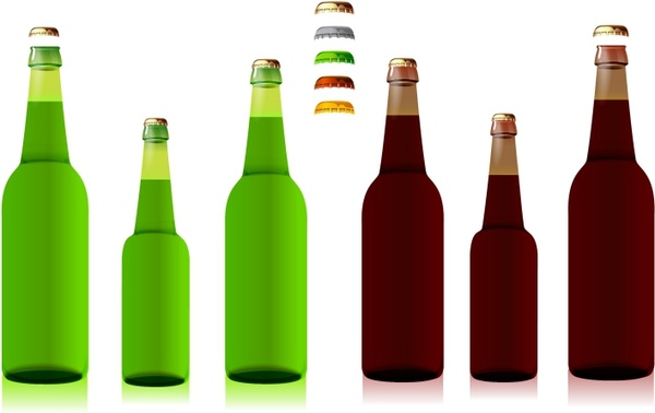 Drink clipart free beer Clip free Bottles Free vector