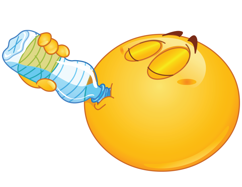 Smiley clipart drinking water Images CLIPART on drink best