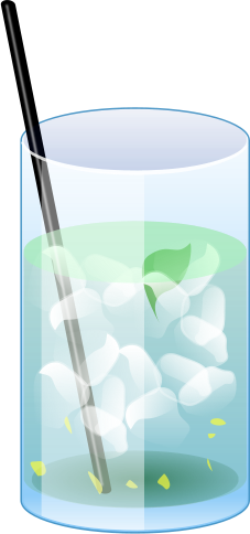 Drink clipart glass water Free 1 of page Art