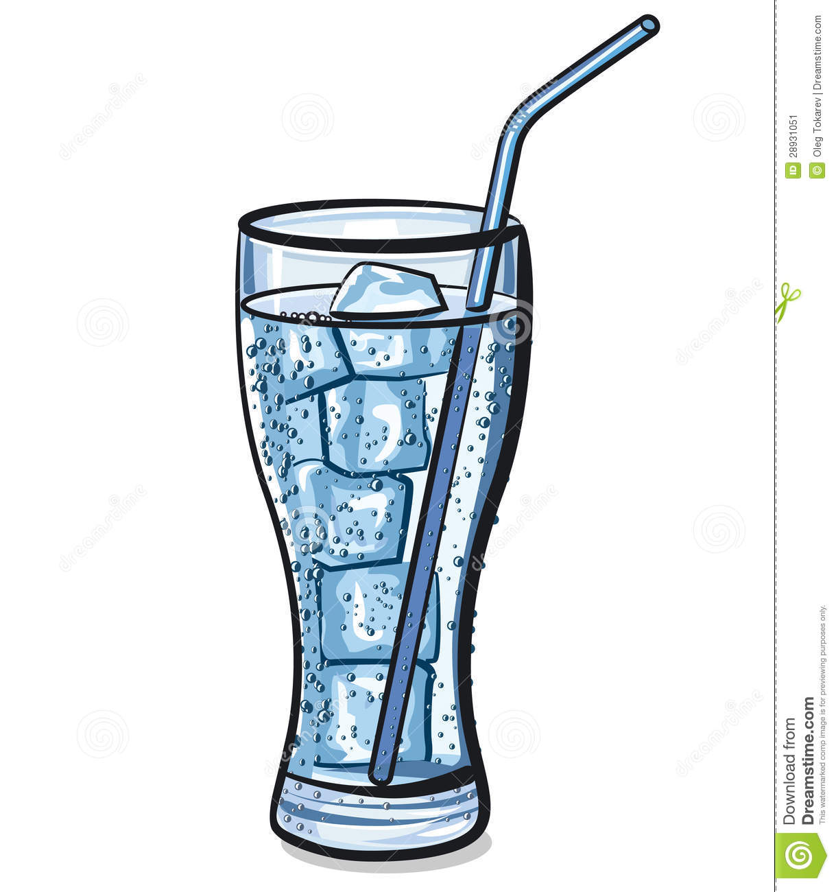 Blue Water clipart glass water (1393) · Free Clipart Water