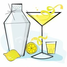 Drink clipart happy hour Ideas Blog Martini Drop Lemon