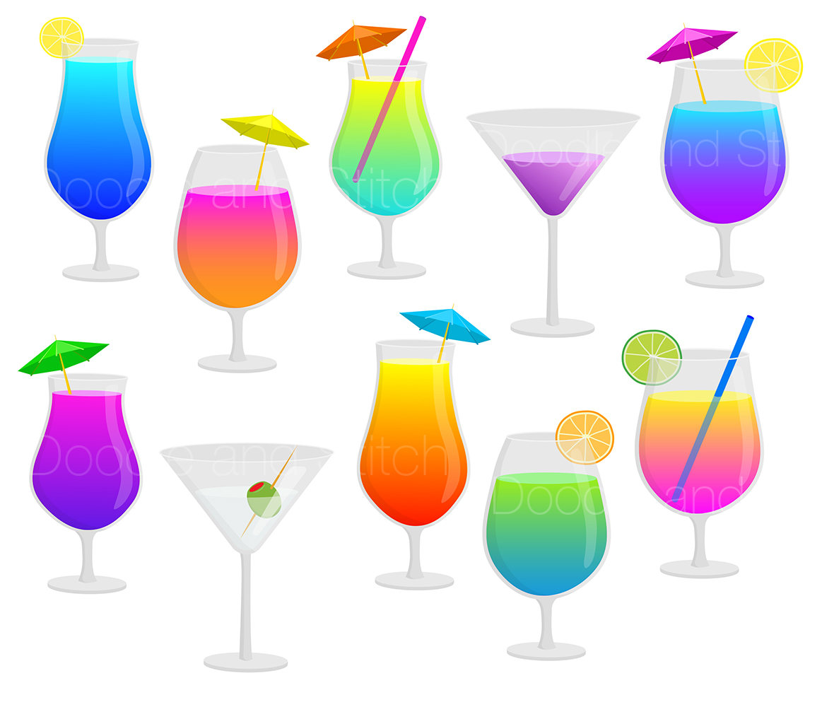 Alcohol clipart holiday cocktail Drink Art This Clip a
