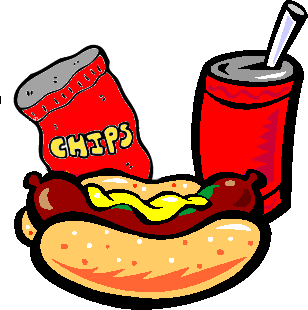 Drink clipart hot dog Clipart Download Chips Hot And