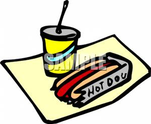 Drink clipart hot dog Clip Image A Soda Image