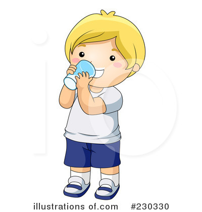 Boy clipart drink water Drinking BNP Sample Clipart Studio