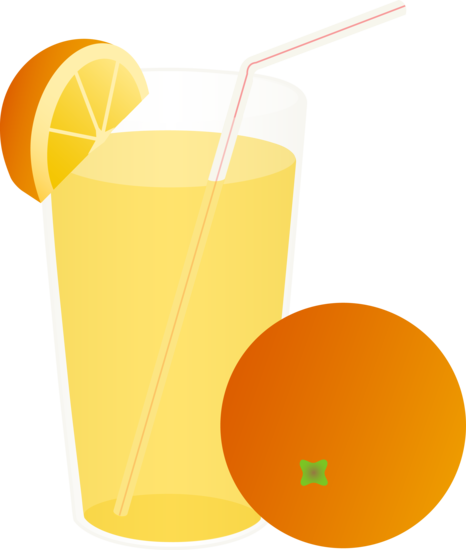 Orange clipart jiuce Juice png juice Glass Orange