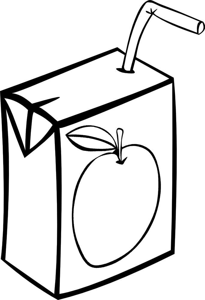 Drink clipart juice box Box Juice Fast Food Clip
