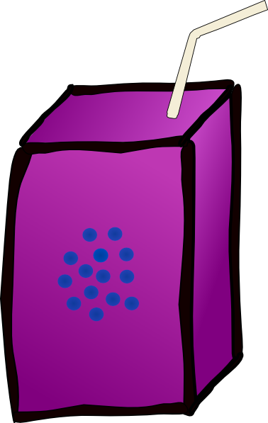 Grape clipart cartoon Juice Box royalty Art public