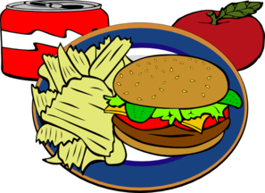 Drink clipart junk food  Art Fast Art vector
