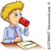 Drink clipart kid drink Drinking Royalty clipart Boy collection