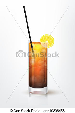 Drink clipart long island Csp19838458 illustration the Clipart Realistic