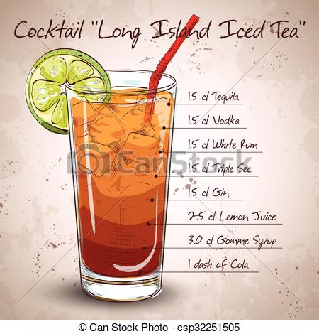 Vodka clipart cocktail Tea Island Vodka Cocktail Cocktail