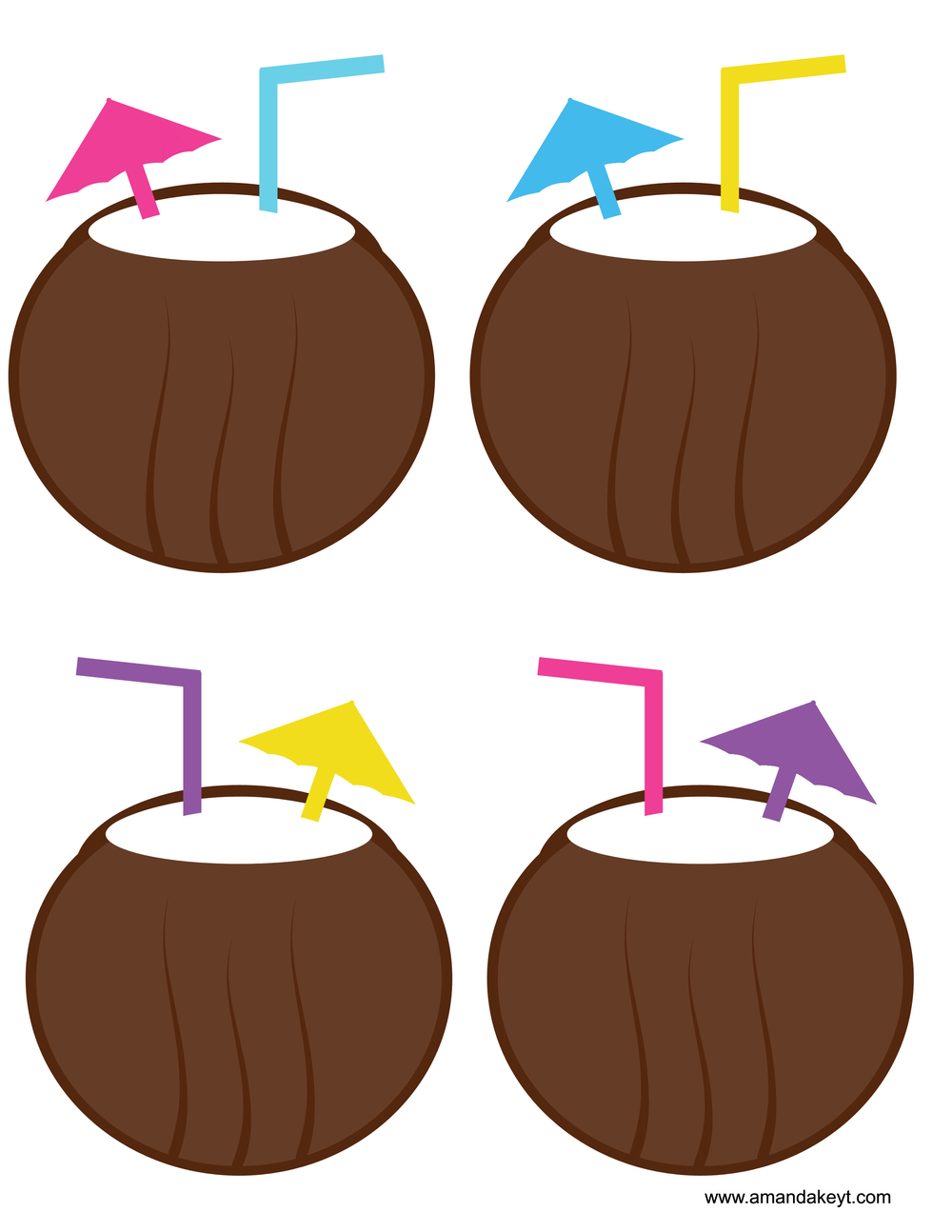Drink clipart luau ♥ Prop Booth Photo Photo