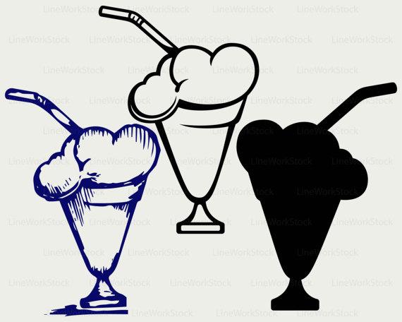 Drink clipart milkshake glass From milk art clip glass