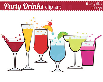 Bar clipart party drink #1