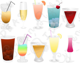 Beverage clipart summer drink Clipart Clipart Summer Use Drinks