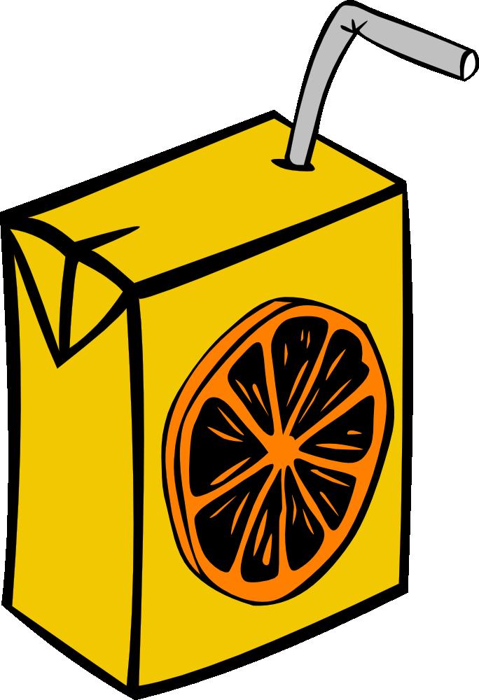 Drink clipart orange juice Art Juice Orange Clip OnlineLabels