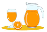 Drink clipart orange juice Search orange Kb juice pitcher