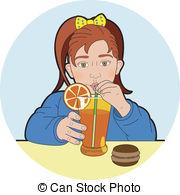 Drink clipart orange juice Illustration juice juice of Vectors