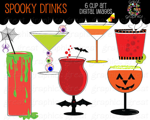 Beverage clipart party drink Drink Clip Cocktail Party Il_570xn