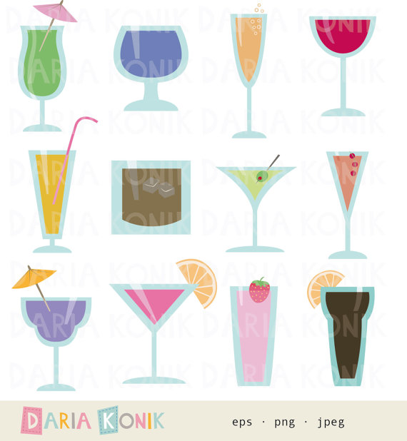 Drink clipart party drink Party Clip by drinks Art