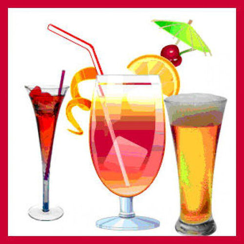 Alcohol clipart party drink #13