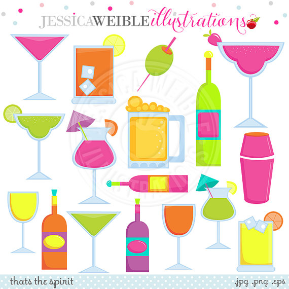 Wine clipart cocktail hour Clipart Drink Drink Spirit Cocktail