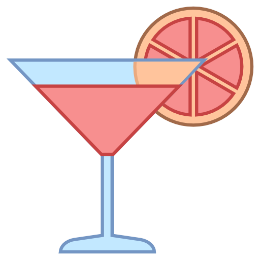 Drink clipart pink cocktail Icons8 Pack drinks Cocktail Icon