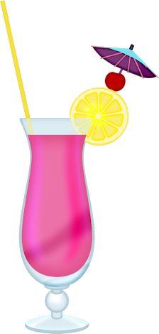 Drink clipart pink cocktail Clipart DRINKS Cocktail наборы /