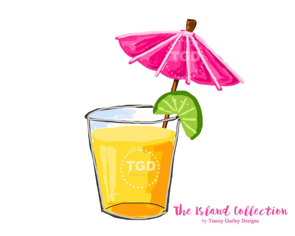 Drink clipart pink cocktail Clip art download Umbrella Original