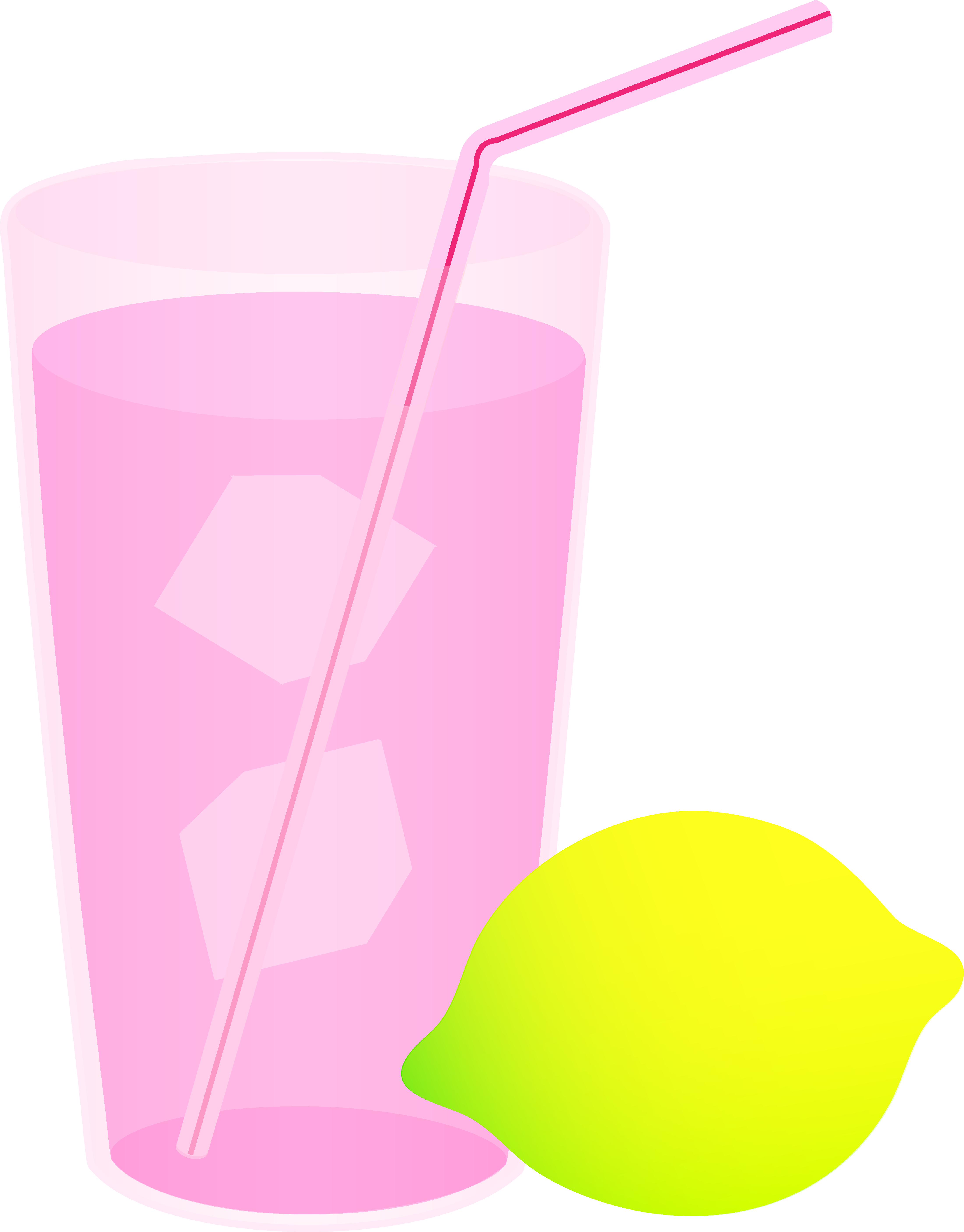 Drink clipart pink lemonade Lemonade Lemonade Pink Clip Glass