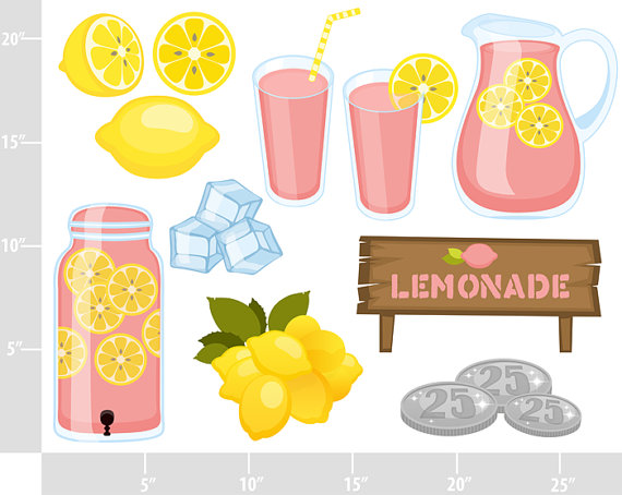 Drink clipart pink lemonade And Use a Lemonade