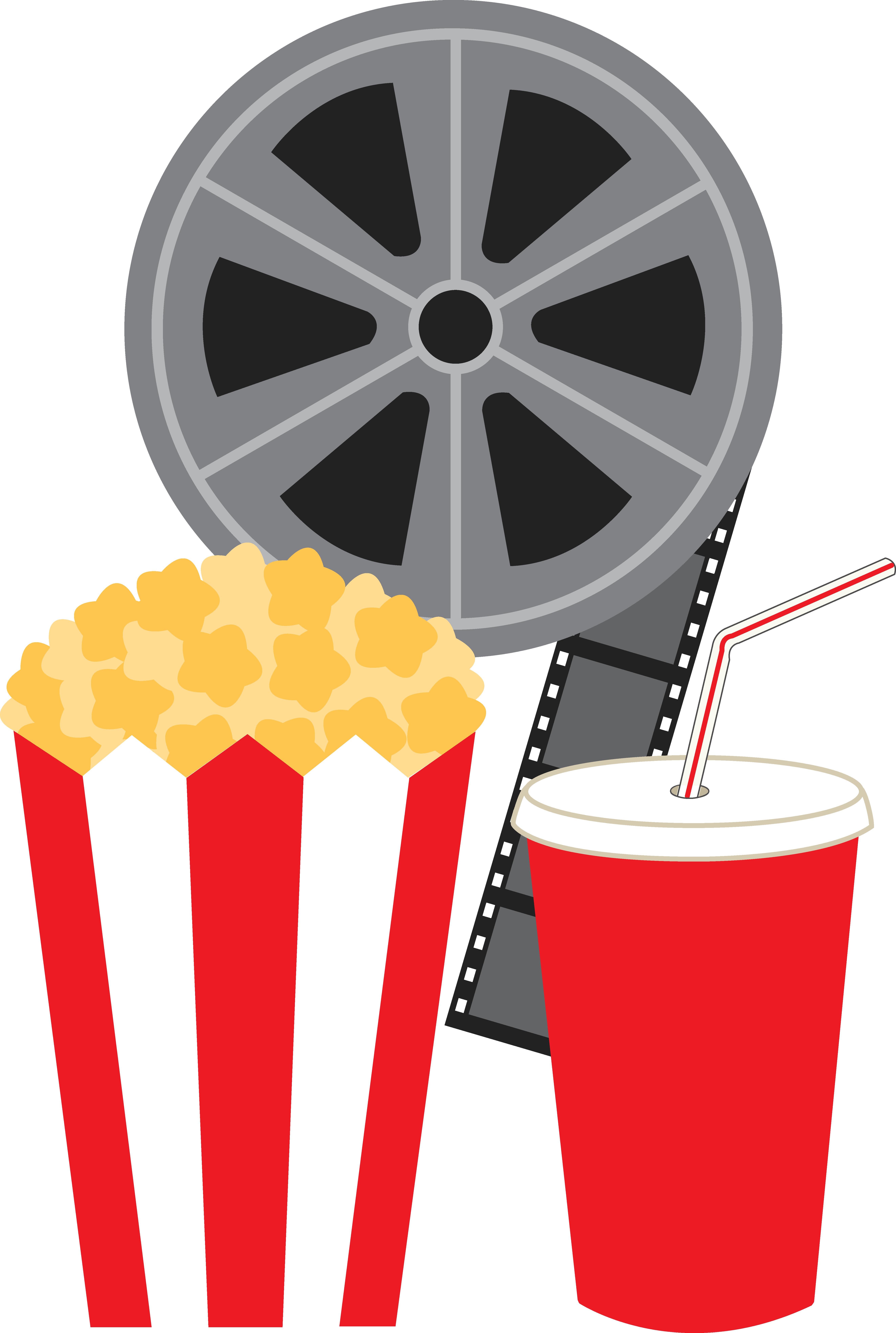 Movie clipart cartoon And Free Film Clip Art