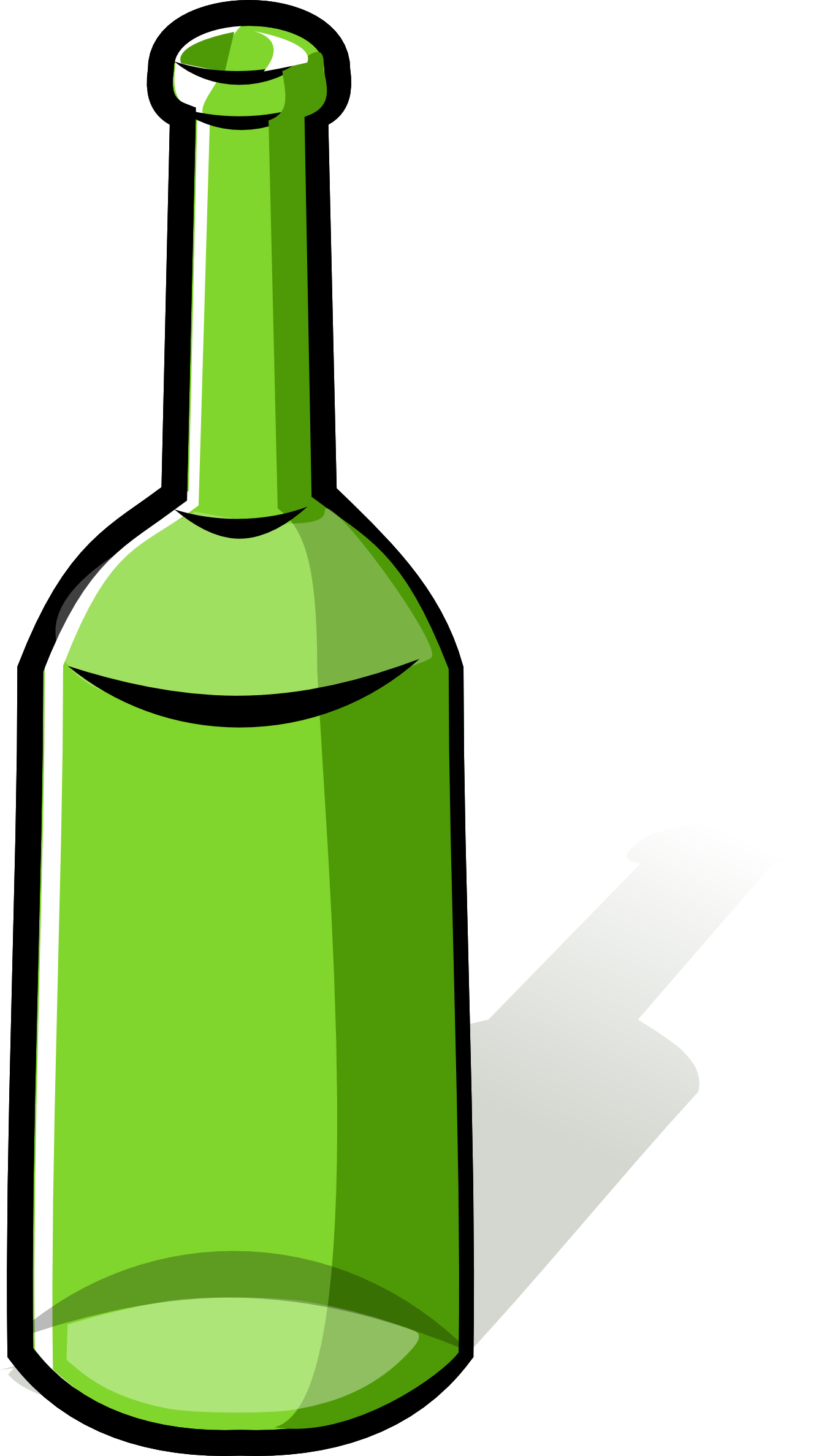 Wine clipart bottle rum Full Clipart Photo by com