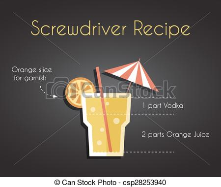 Drink clipart screwdriver Cocktail  driver driver cocktail