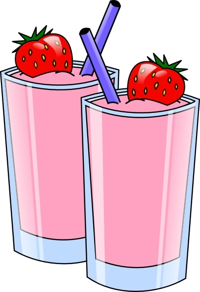 Drink clipart smoothy Strawberry vector Drink Drink clip
