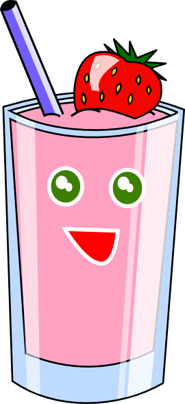 Drink clipart smoothy Art  image Clker Shake