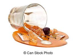 Drink clipart spilled  Spilled Spilled Images Spilled