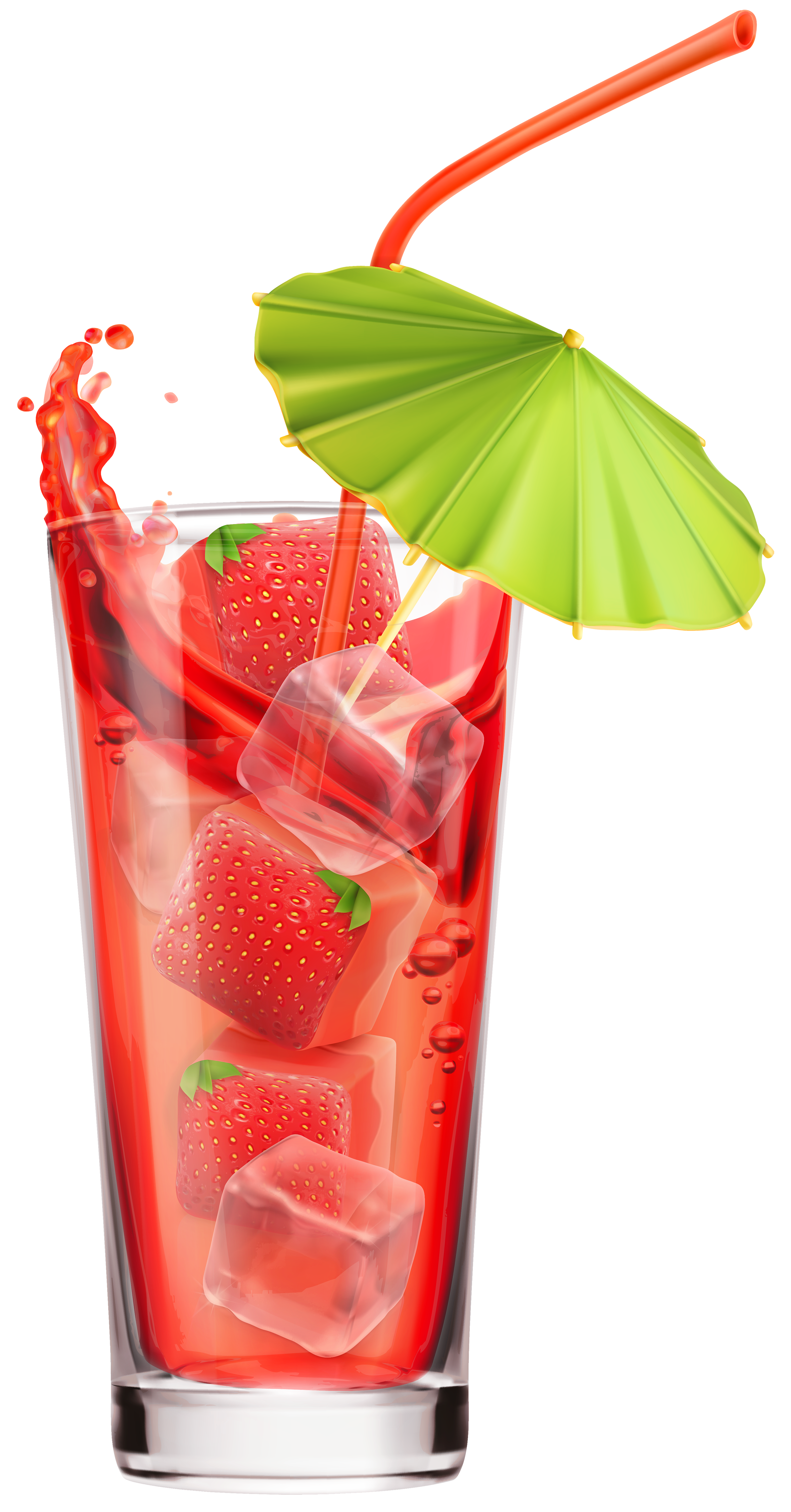 Drink clipart strawberry juice Clip Art  PNG Sundae