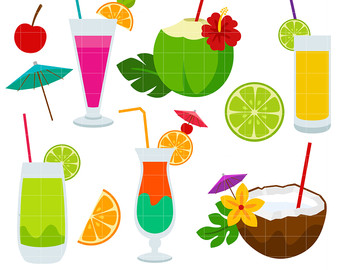 Summer clipart summer drink #8