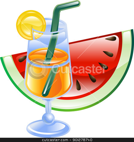 Summer clipart summer drink #3