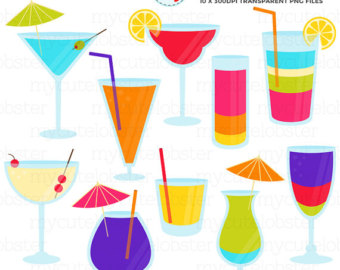 Summer clipart summer drink #7