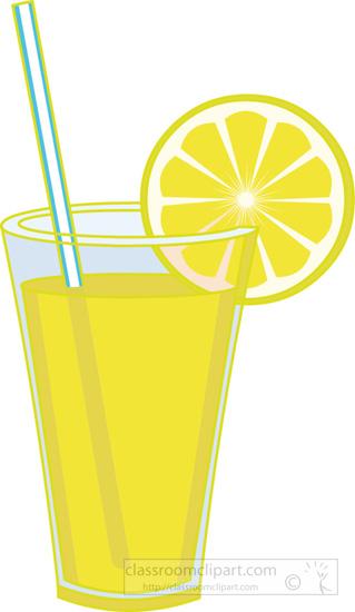 Drink clipart transparent Slice of slice with lemon